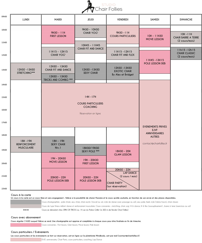 Planning Chair Follies 2017-2018