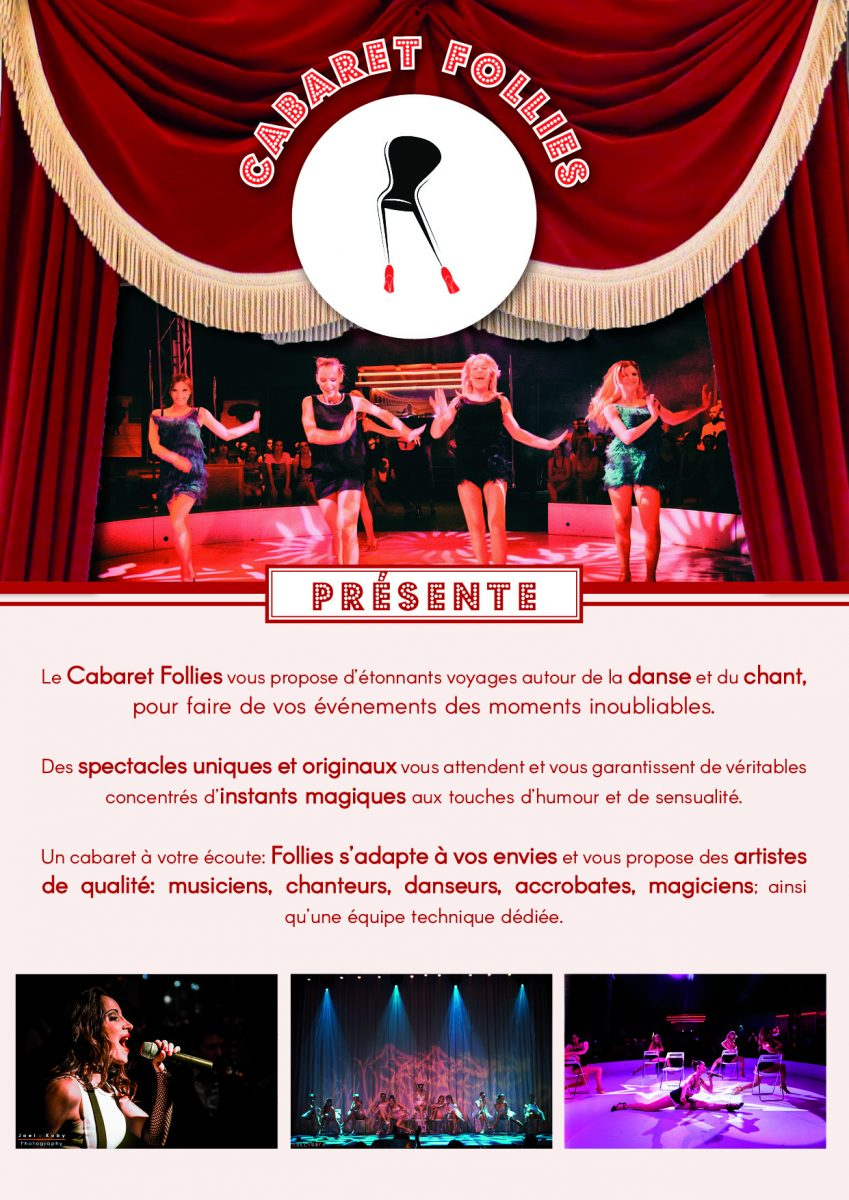 Studio Chair Follies présente le Cabaret Follies